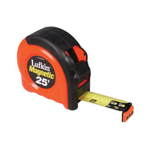 Cooper Tools 700 Series Power Tapes - 25' magnetic endhook tape measure