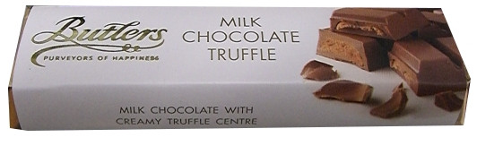 Butlers Milk Chocolate Truffle, 75g (2.64 oz) by
