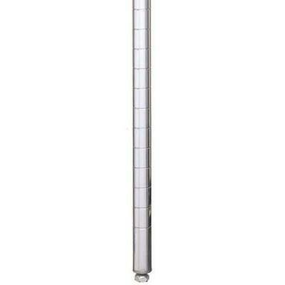 Metro 33P Stationary Chrome Plated Post, 34-1/2