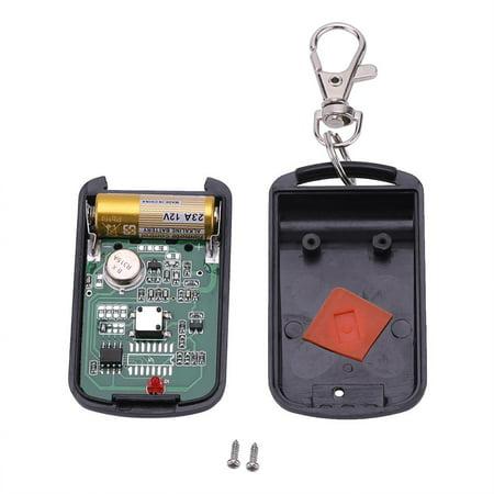 Sonew Portable 1 Button Garage Door Wireless Remote ...