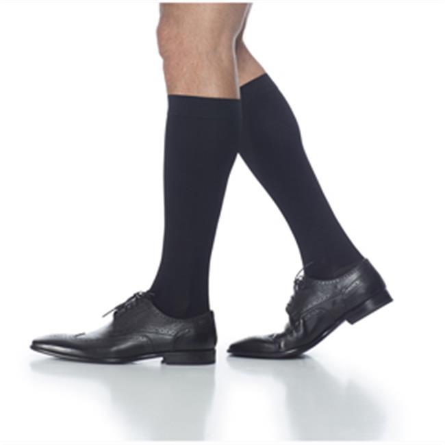 20-30 mm Hg Access Mens Long Knee High, Black - Medium - image 1 of 1