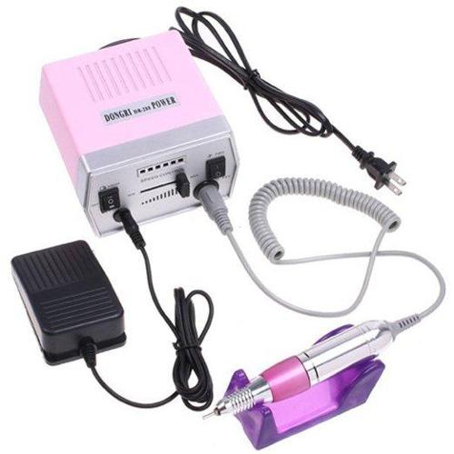 AGPtek Professional Electric Nail Art Salon Drill Glazing Machine Manicure Pedicure Kit