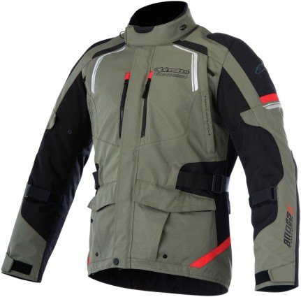 Alpinestars Andes V2 Mens Drystar Jacket Green/Black
