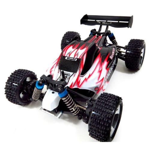 WL Toys 4WD Off-Road Buggy Racing Car RC Radio Control Red RC Car R C Car Radio Controlled Car by