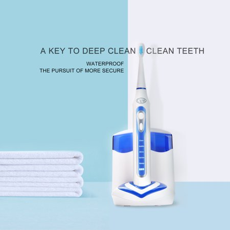 CUH Rechargeable Electric Toothbrushes for Adults UV Sanitizer IPX7