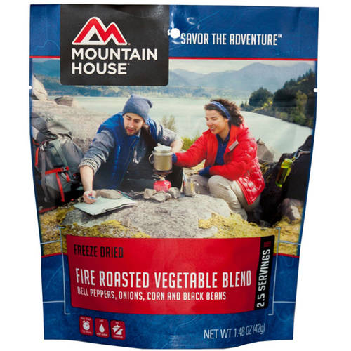 Mountain House Fire Roasted Vegetable Blend, Pouch