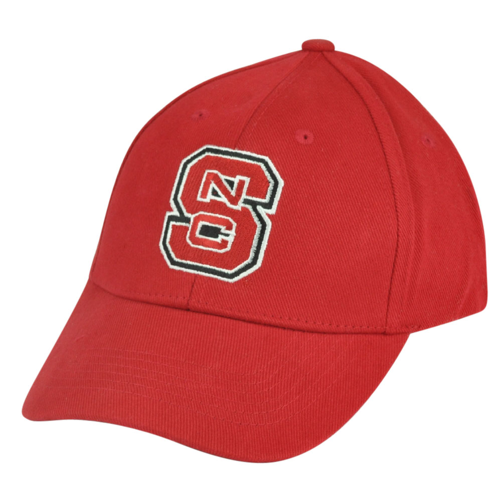 NCAA North Carolina State Wolfpack  Adjustable Captivating Headgear Hat Cap