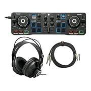 Hercules DJ Control Starlight Compact Controller with Serato DJ Lite Bundle