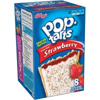 (12 Pack) Kellogg's Pop-Tarts Frosted Strawberry 8 ct