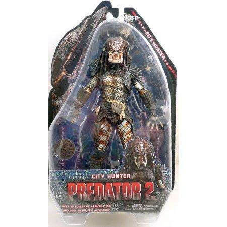 NECA Predators 2010 Movie Series 4 Action Figure City Hunter Predator 14511 (City Hunter Predator)