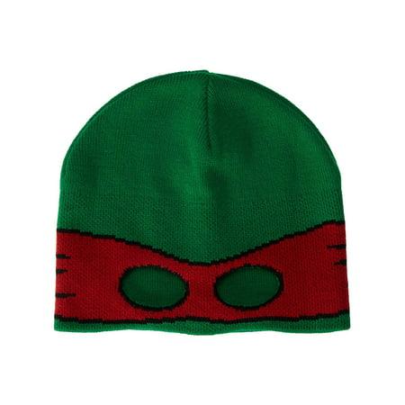 Ninja Turtle Half Ski Mask with Eye Holes Green (Ninja Face Mask)