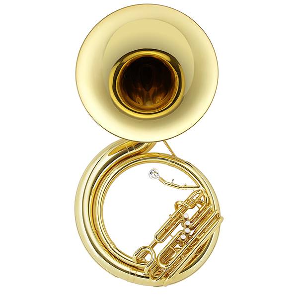 Jupiter University Quad 4 Valve Brass BBb Sousaphone, JSP1110 by Jupiter