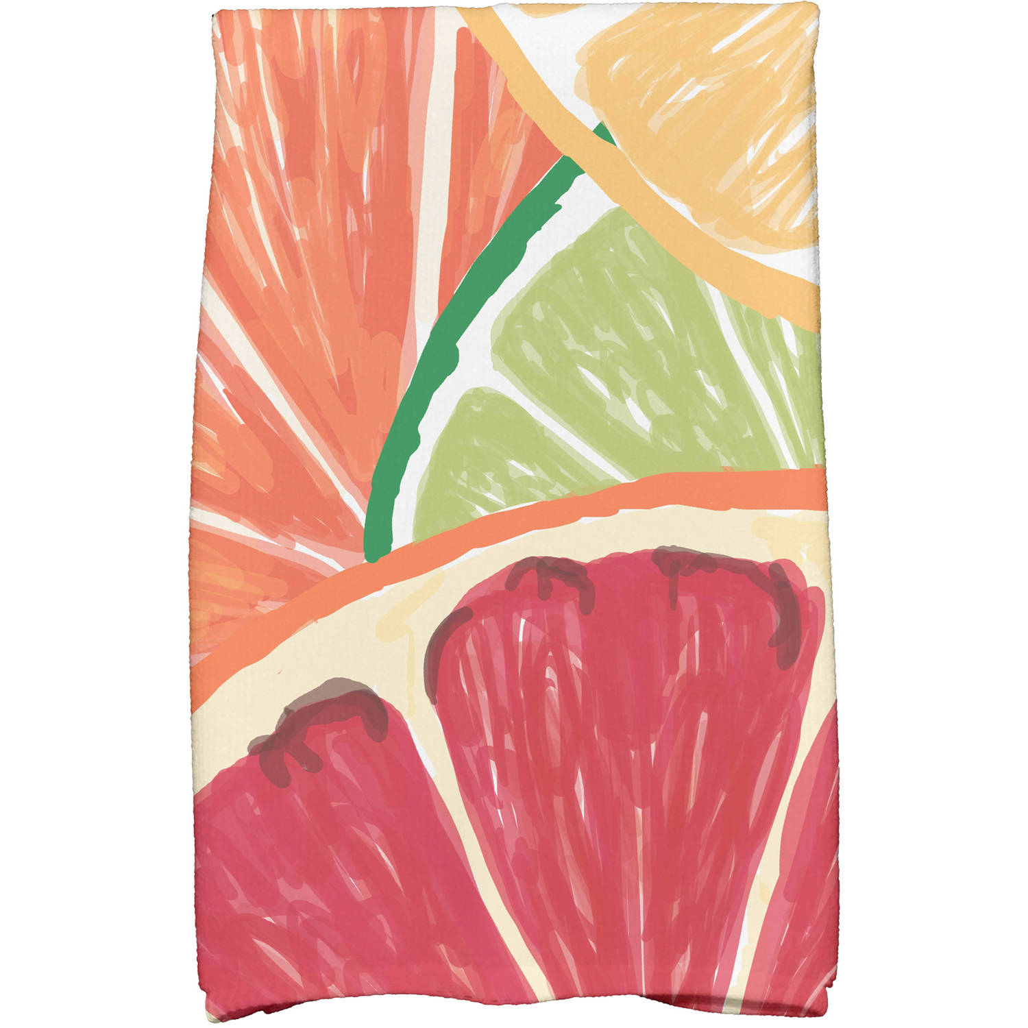"Simply Daisy 16"" x 25"" Lemonade Geometric Print Kitchen Towels by E By Design"