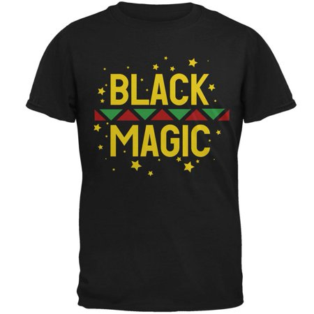 Black History Month Magic Star Pan African Mens T Shirt