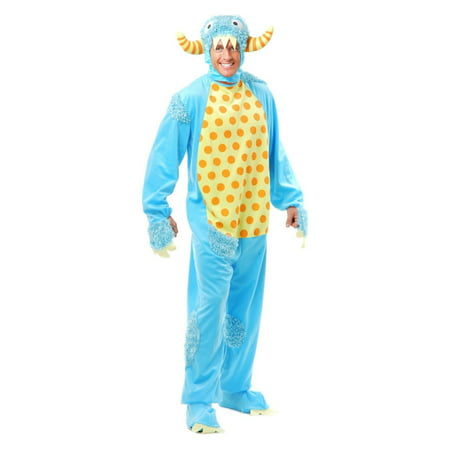 Halloween Mini Monster Adult Blue Costume - University Of Miami Halloween 2017