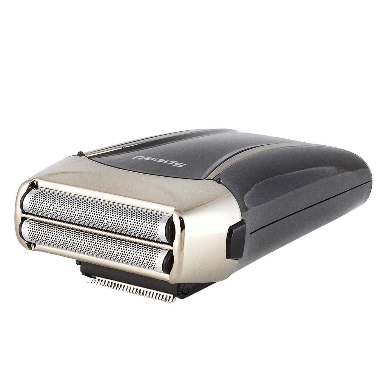 JTrim Speed 2 Elite Travel Electric Shaver For Men Flex 2 Blades Foil Electric