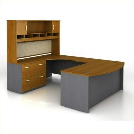 Series U-shape Computer - Bush Business Series C 4-Pc. U-Shape Left-Hand Computer Desk