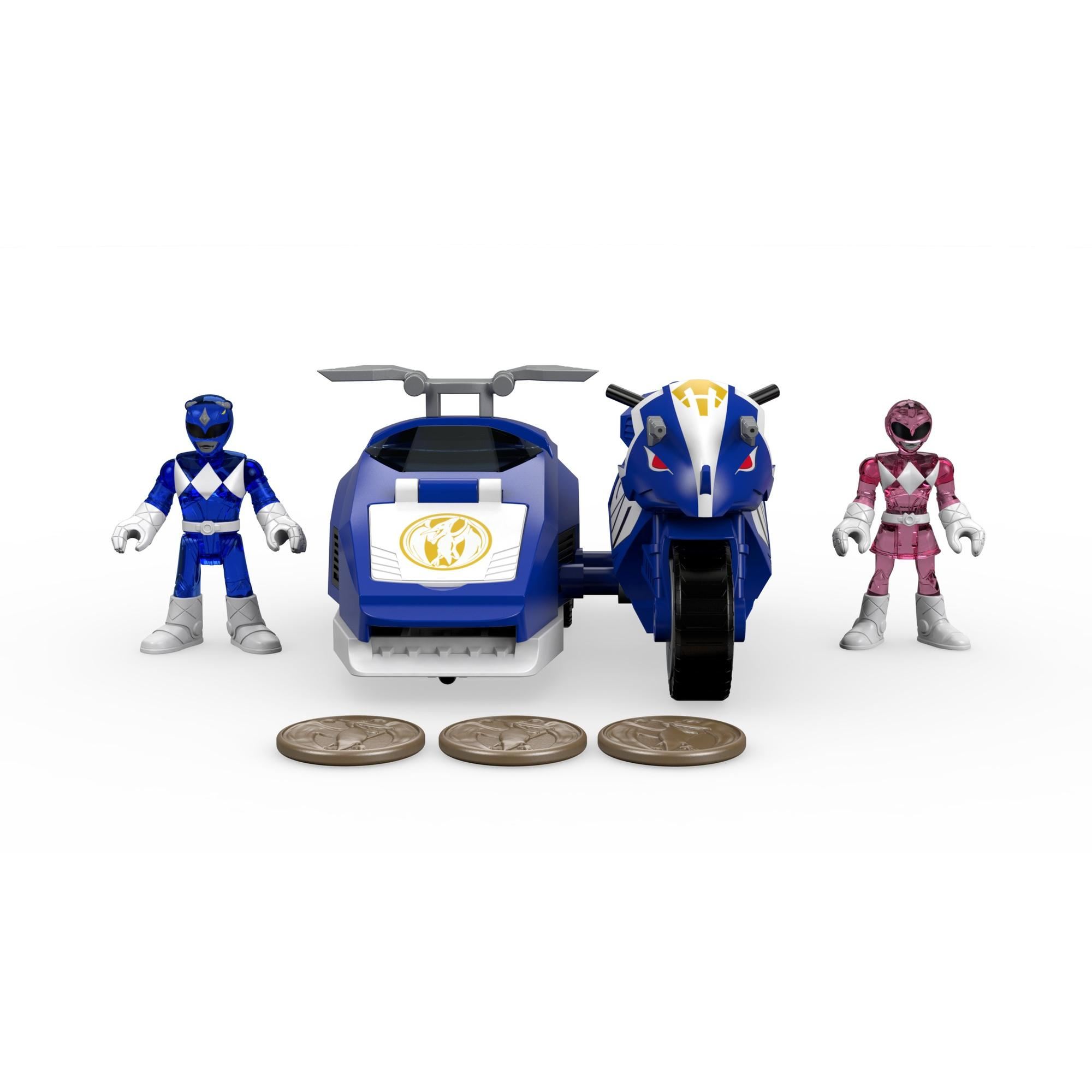 IMaginext Power Rangers Triceratops Battle Bike by FISHER PRICE