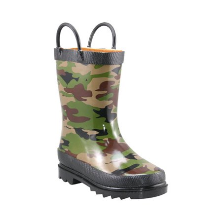 Boys' Western Chief Camo Rain -