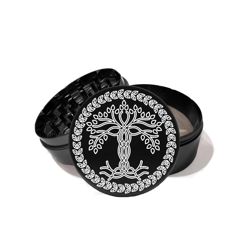 Celtic Tree of Life - Laser Etched Grinder
