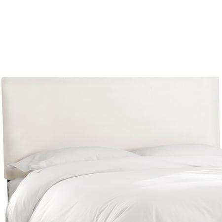 Skyline Furniture  Premier White Upholstered Headboard