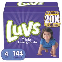 Luvs Ultra Leakguards Diapers (Choose Size & Count)