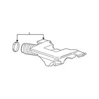 Genuine OE GM Intake Duct 20931028