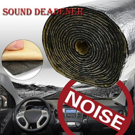 - 100x140cm Firewall Sound Deadener Car Heat Shield Insulation Deadening Material