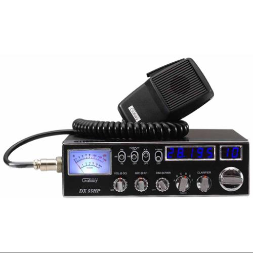 Galaxy 10 METER RADIO W/ BLUE LED AND DUAL MOSFET
