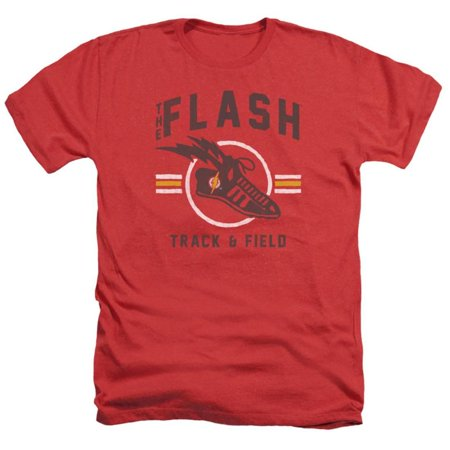 The Flash- Track & Field Logo Apparel T-Shirt - Red