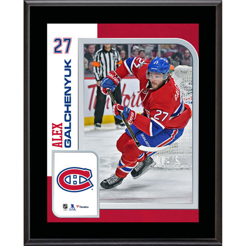 "Alex Galchenyuk Montreal Canadiens 10.5"" x 13"" Sublimated Player Plaque - No Size"