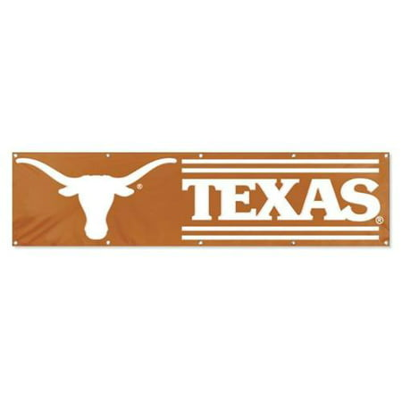 - Texas Longhorns 8' x 2' Heavyweight Nylon Banner