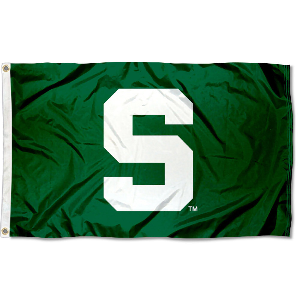 Michigan State University Spartans Flag