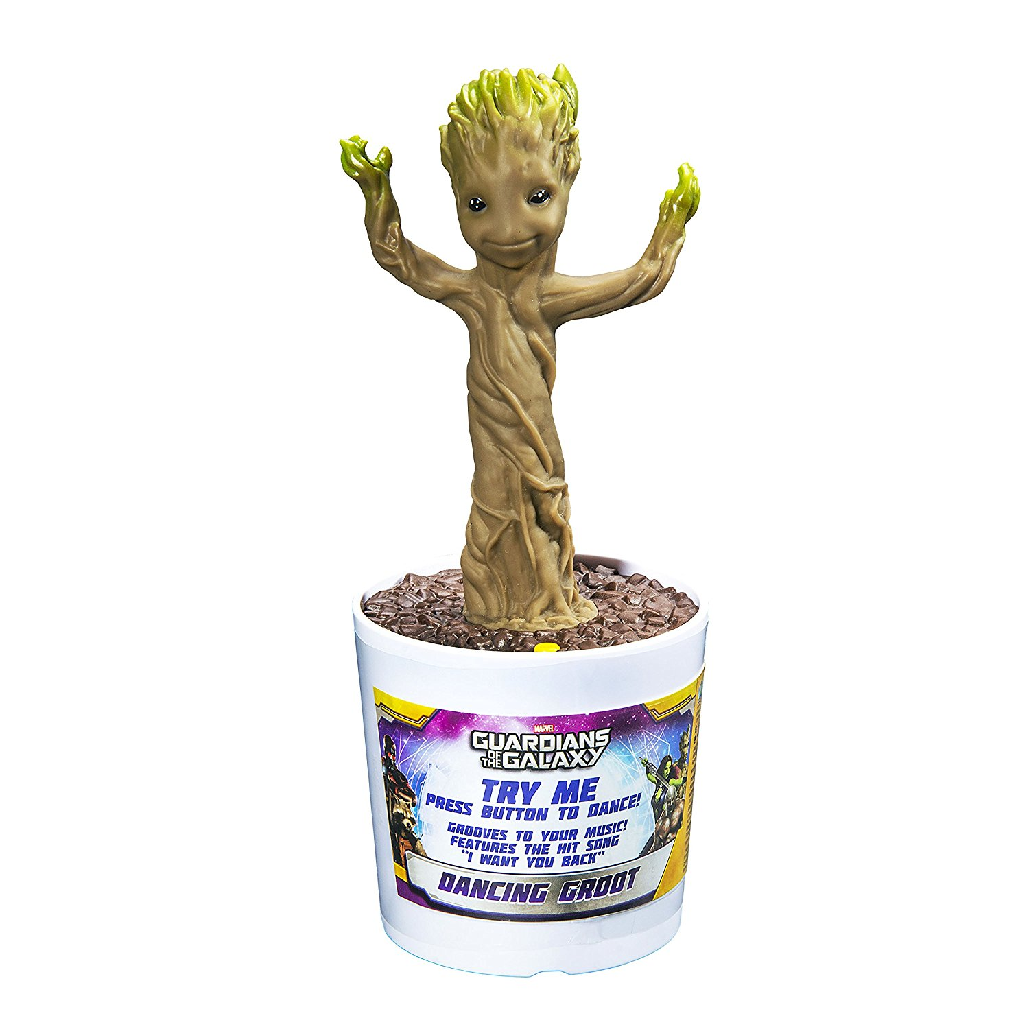 Marvel Guardians of the Galaxy Voice and Sound Activated Dancing Groot