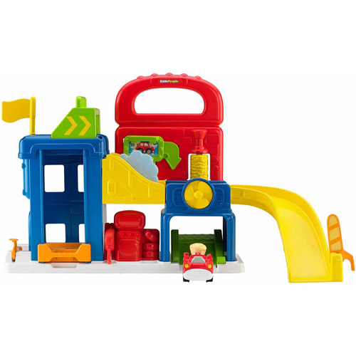 Fisher Price Little People Wheelies Garage Play Set by FISHER PRICE