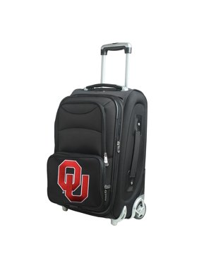 "Oklahoma Sooners 21"" Rolling Carry-On Suitcase"