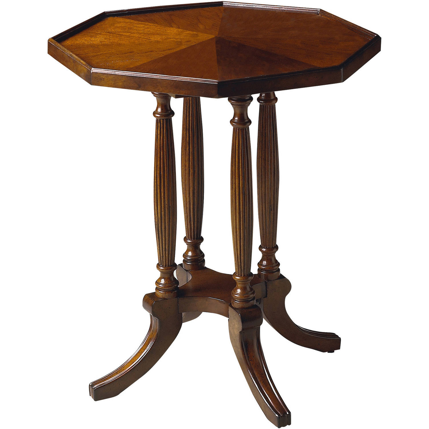 Butler Adolphus Octagonal Accent Table, Multiple Finishes