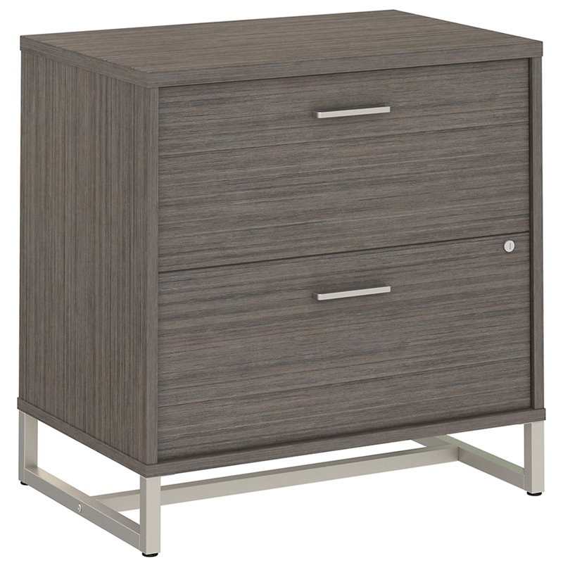 BBF Method by Kathy Ireland Lateral File Cabinet Assembled in Cocoa