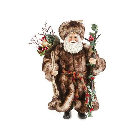 Winter Wonderland Santa Figurine (10.5