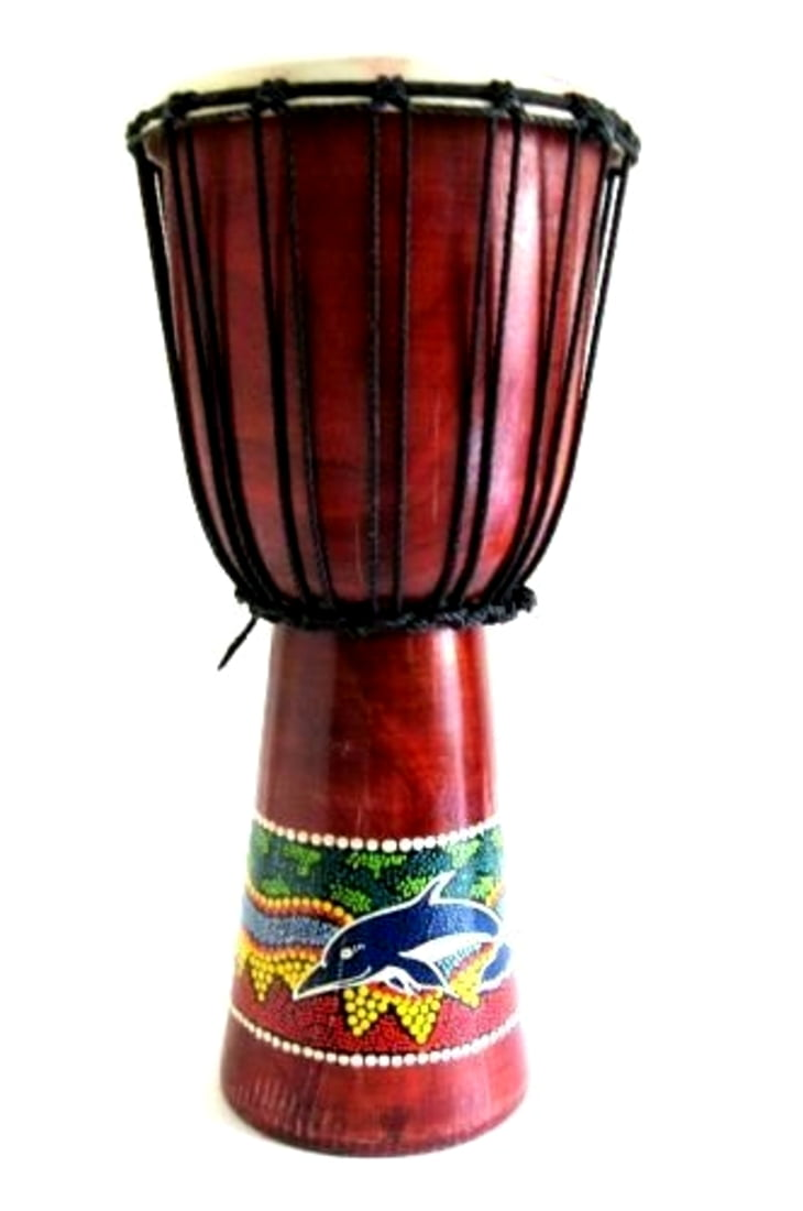 "Djembe Drum Bongo Hand Drum, African Drum Percussion X- LARGE, 20"" Professional... by"