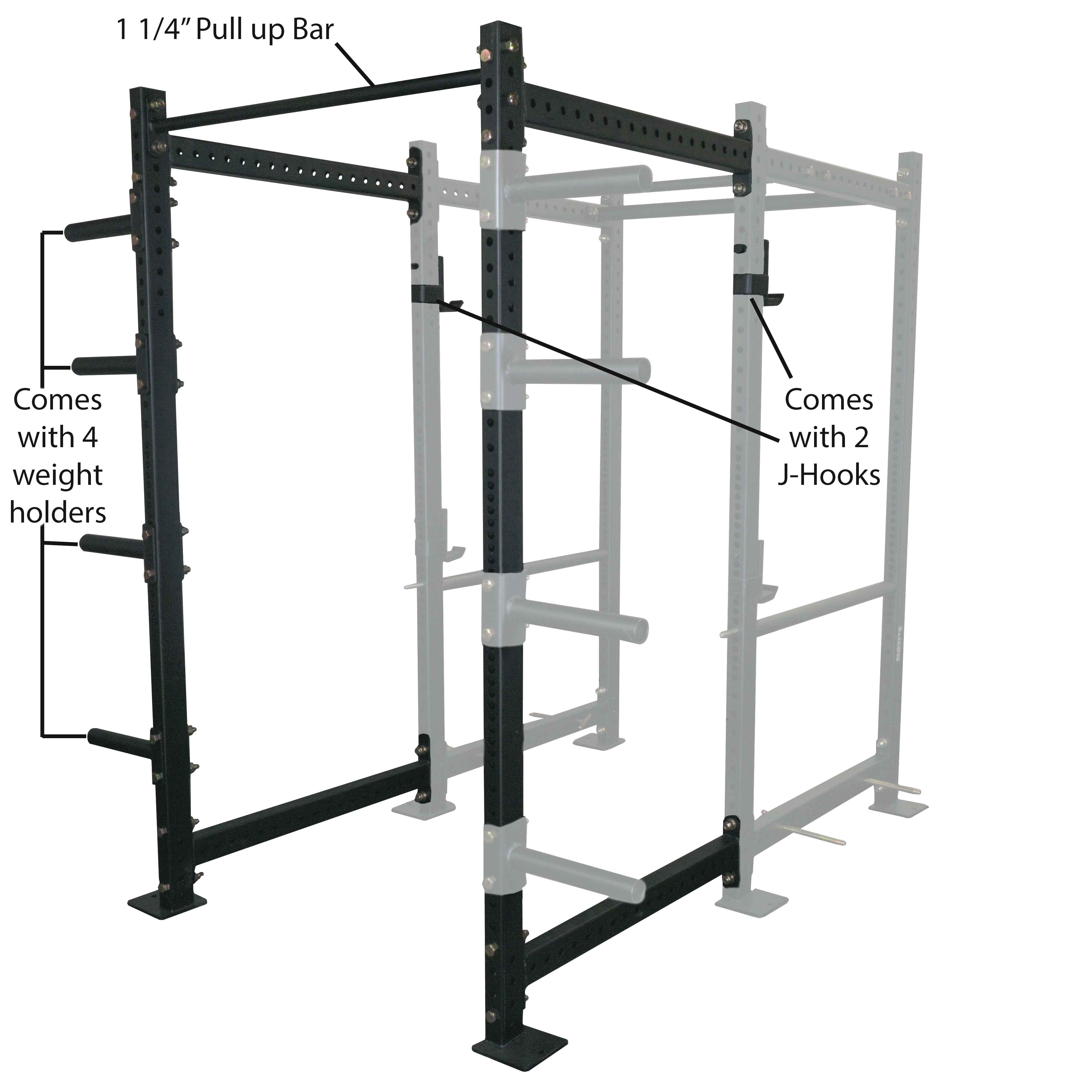"36"" Extension Kit For T-3 Power Rack"