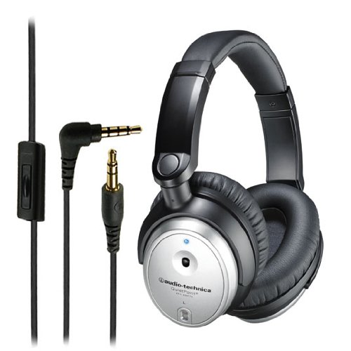 Refurbished Audio-Technica ATH-ANC7B QuietPoint Active Noise-Cancelling Headphones (Manufacturer Refurbished)