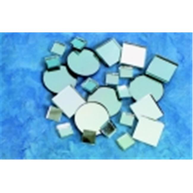 School Specialty Mirror Square Circle Mosaic Tile, Pack - 150