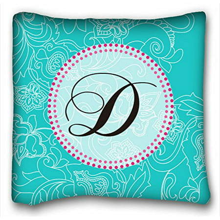 WinHome Chevron Gradient Wave Tribal Striped Geometric Pillowcase Throw Cushion Pillow Case Cover Anchor Light Blue Coral Teal Pink Mint Green Turquoise Aqua Grey Beige For Home Sofa Size 18x18 Inches
