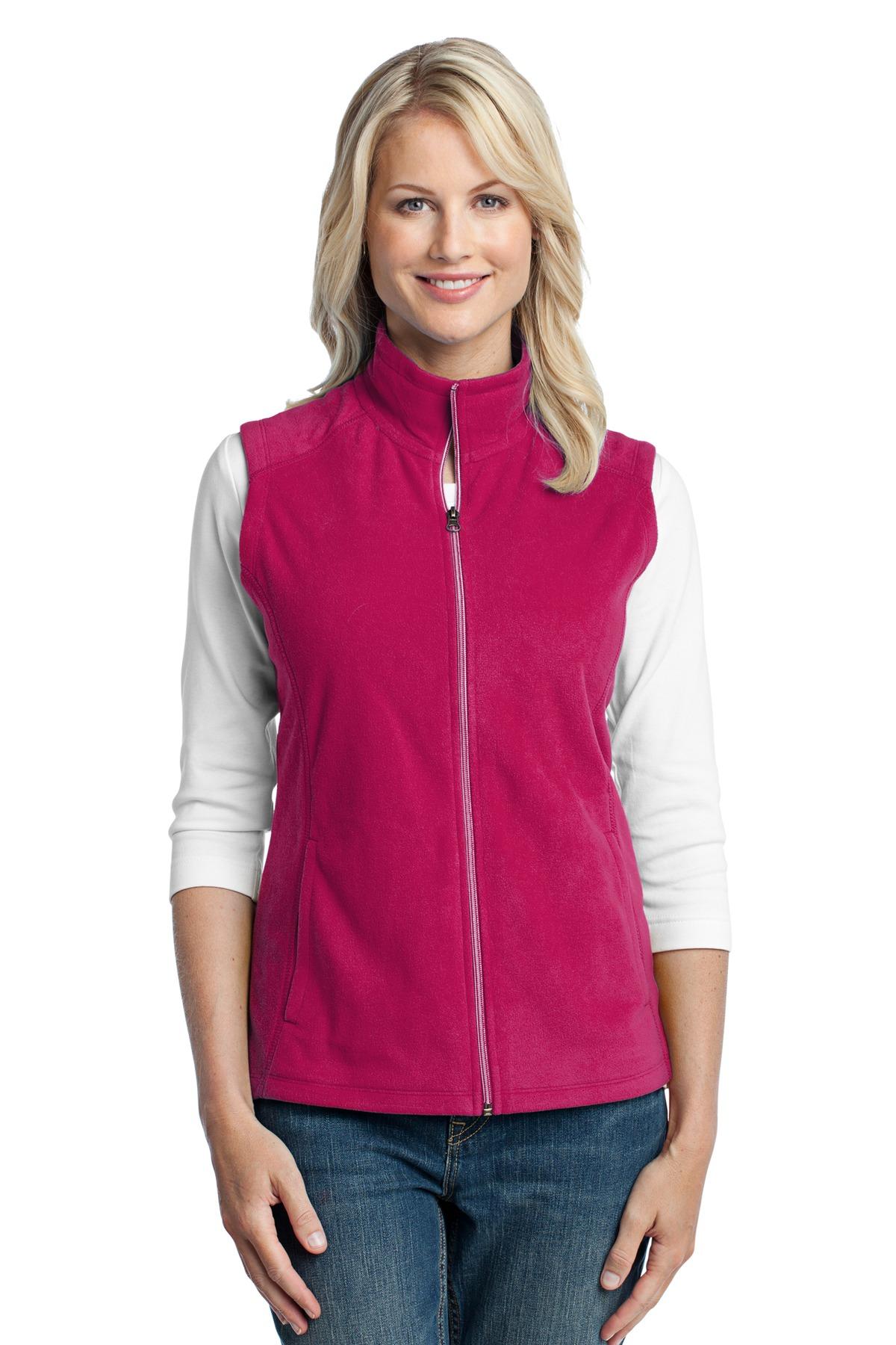 Port Authority Women's Lightweight Microfleece Zipper Vest