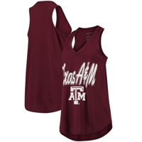 Texas A&M Aggies Women's At Ease V-Neck Tank Top - Maroon