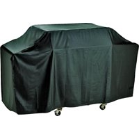 Omaha Grill Cover, For Use With Cart Style Grills, Vinyl, Black