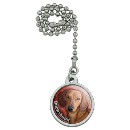 Dachshund Lighting - Dachshund Wiener Dog Pet Ceiling Fan and Light Pull Chain