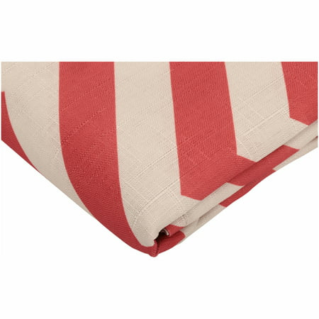 MainStaysTM Chevron Rust Fabric Shower Curtain