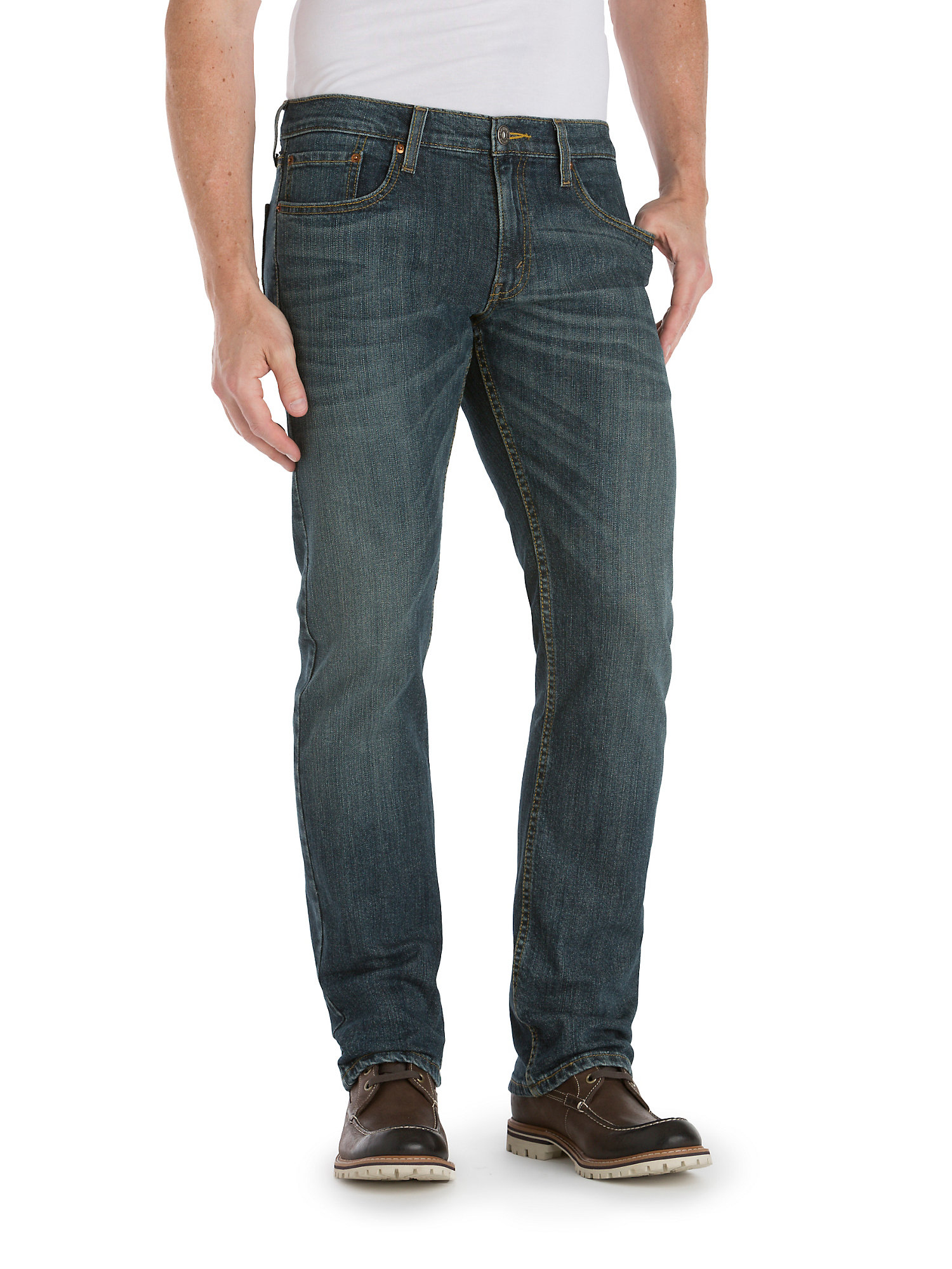 2d087912 Signature by Levi Strauss & Co. Men's Straight Fit Jeans - Walmart.com